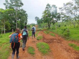 Hiking to the Ecolodge