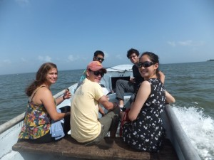 On the panga ride to Kakabila