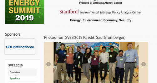 My colleagues and I were featured on the 2019 SVES website!