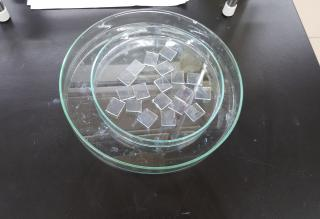 Etched FTO Glass